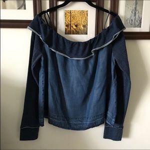 NWOT CLOTH & STONE ANTHROPOLOGIE TOP #WT-13